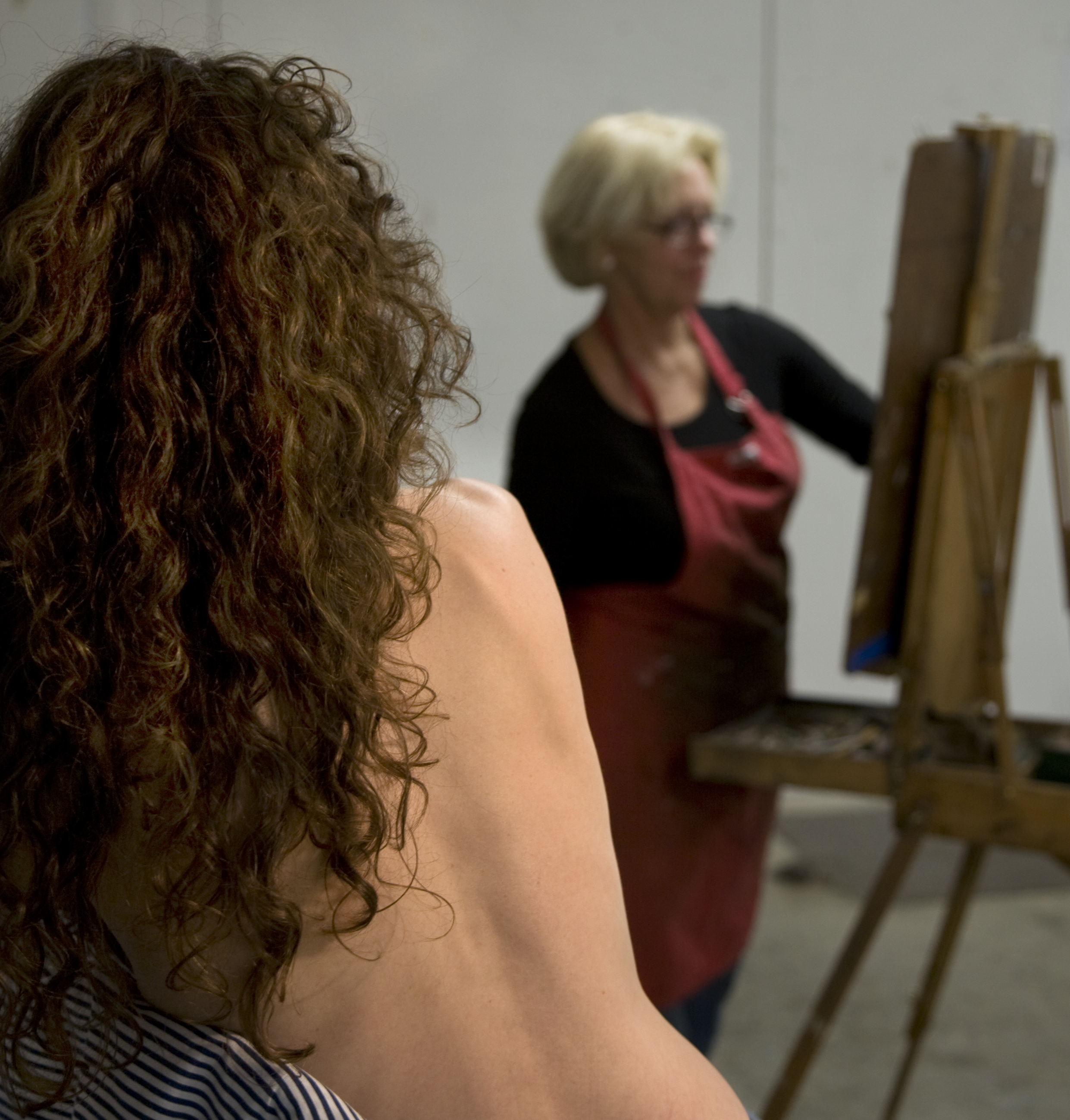Life Drawing with Model