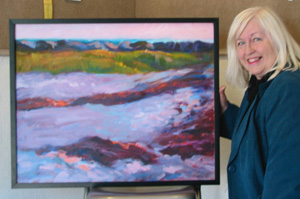 julie with oil of corporation dunes