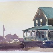 July 14 The Light Within: Houses in Watercolor after Hopper w/ Wennie Huang