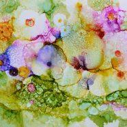 April 13  Ink Drop Floral Workshop  w/ Mary Wojciechowski