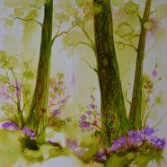 May 18  Ink Drop Landscape and Floral Workshop  w/ Mary Wojciechowski