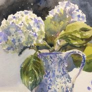 Aug 17 & 18  Watercolor in the Garden  w/ Wennie Huang