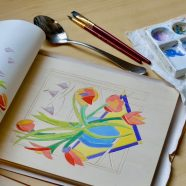 Oct 12 & 19  White-Line Woodblock Print Workshop  w/ Suzanne Packer