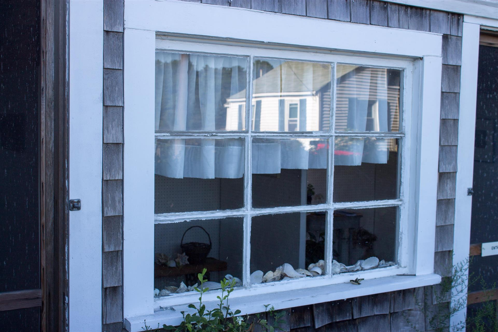 """Reflection in a Wellfleet Cottage"""" by Peg Flood   Cape Cod"""