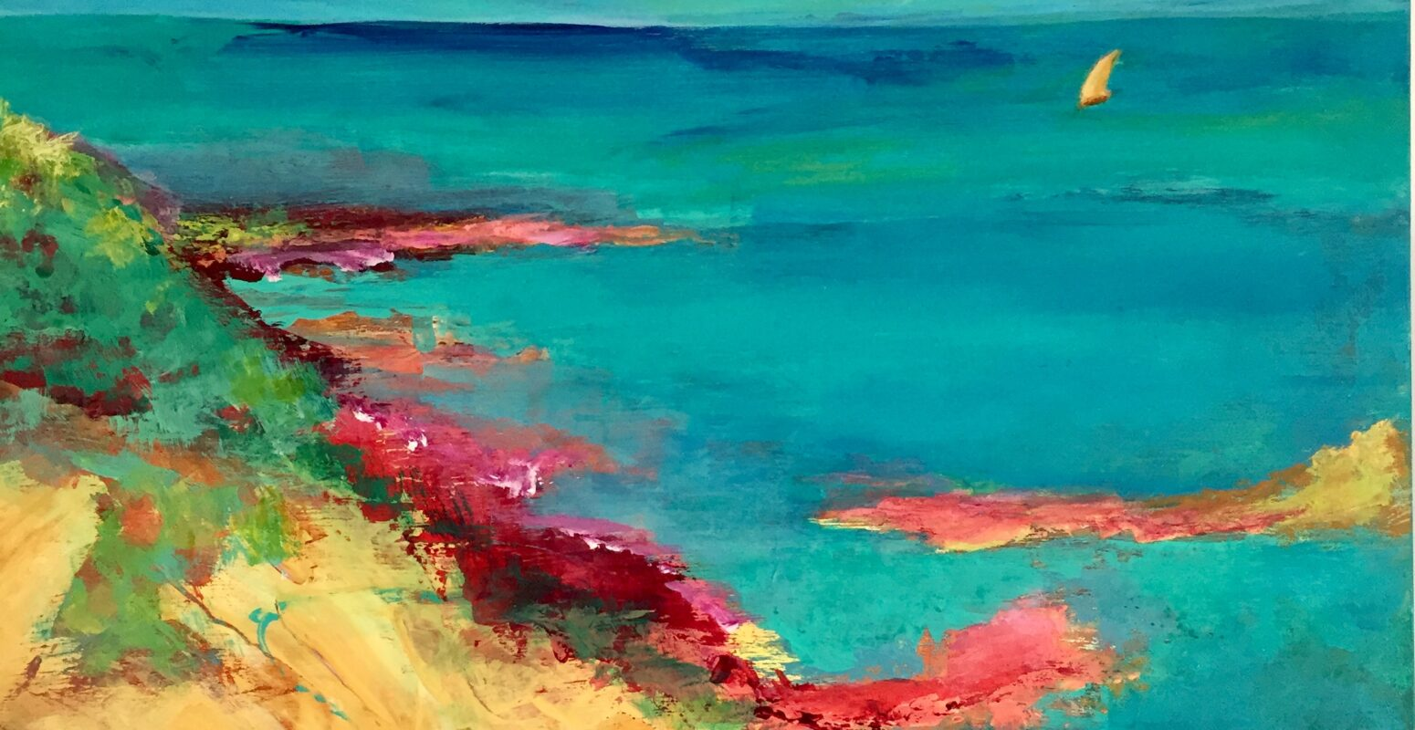"""Rory Marcus June Solo Show Online – """"Flowers, Waves & Mountains"""""""