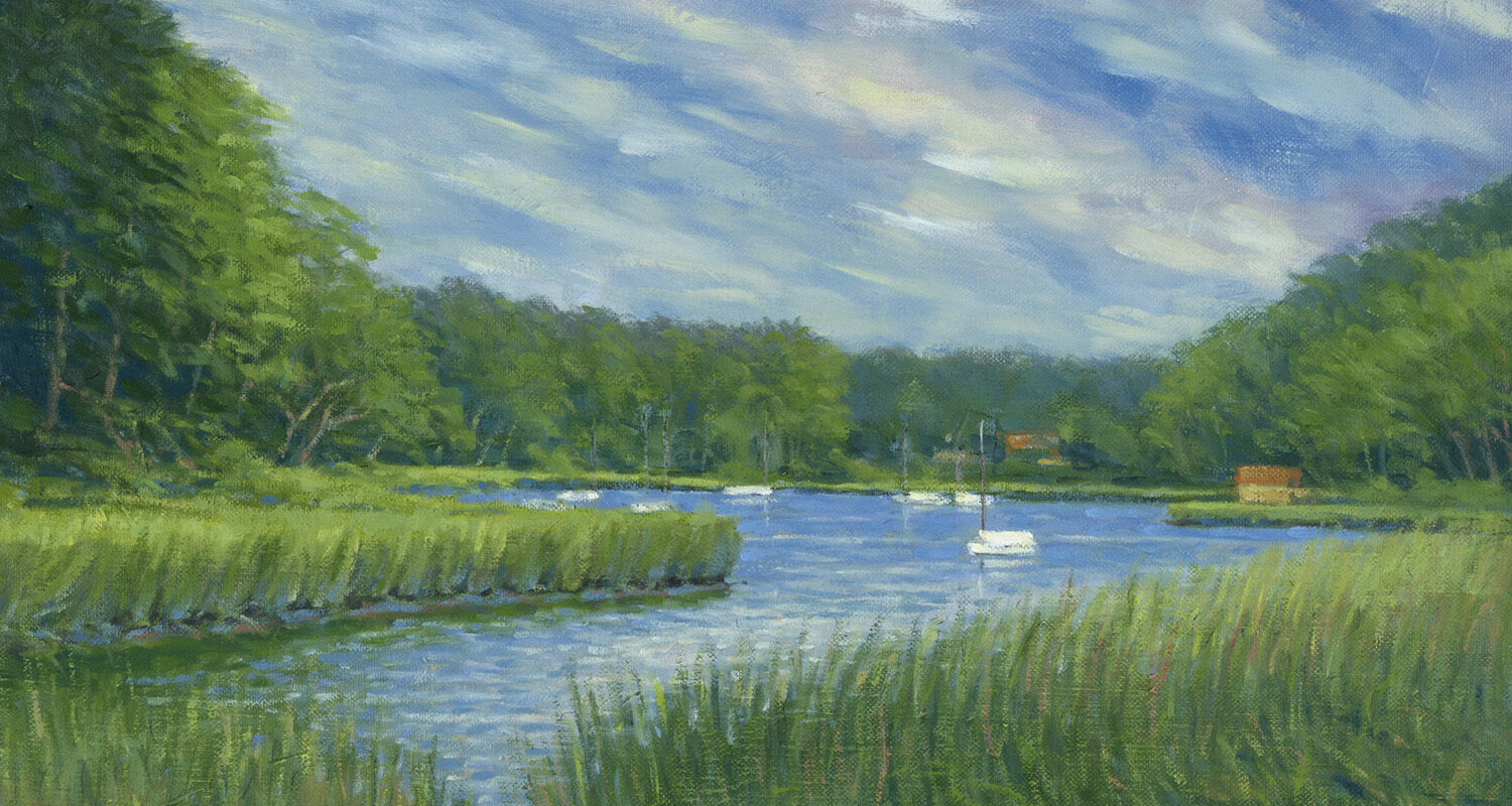 """William Gotha – June Solo Show Online –  """"Cape Cod and New England"""""""