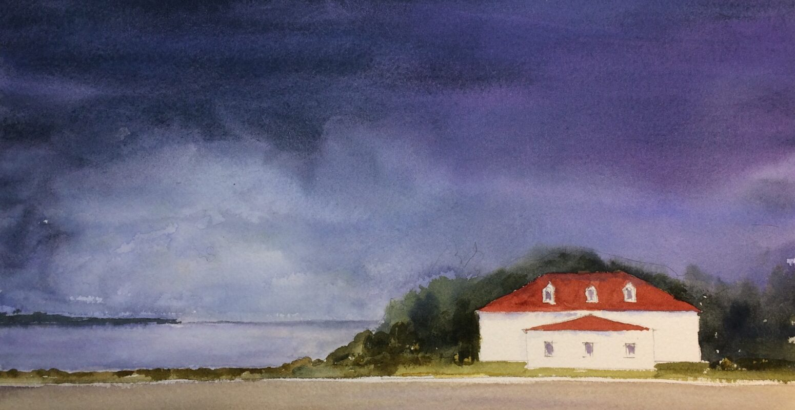 """October Solo Show – """"Just Sandwich"""" Watercolors by Mary A. Smith"""